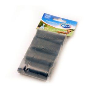 Bolsas higiénicas negras 4x20 uds.