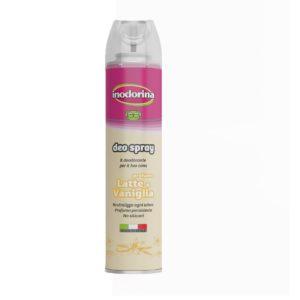 Desodorante Deo Spray leche y vainilla 300 ml.
