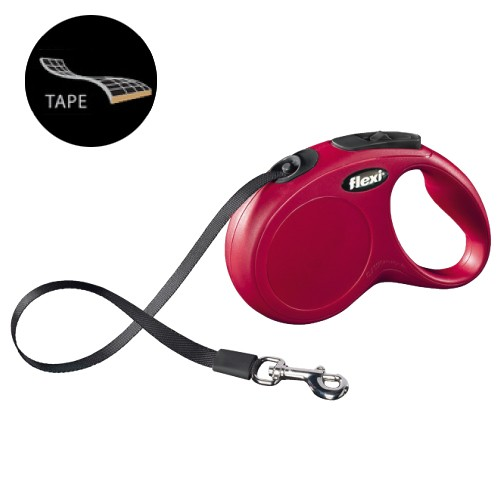 Flexi Classic cinta, color rojo