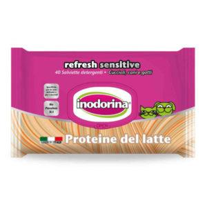 Toallitas higiénicas proteina de la leche